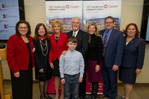 William G. Rohrer Charitable Foundation announces $2 million grant to MD Anderson Cancer Center at Cooper to announce to establish the William G Rohrer Cancer Genetics Program.