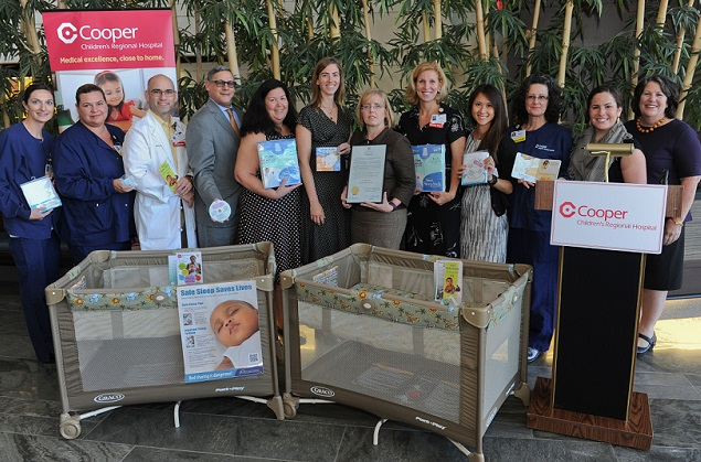 pack-n-play donation for safe sleep initiative