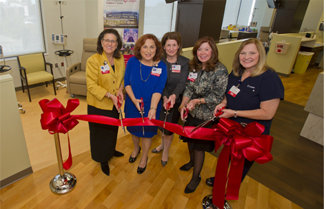 MD Anderson Cancer Center at Cooper - Infusion Unit Ribbon Cutting Photo