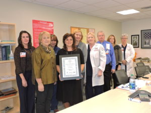 Cooper Receives Award From NJ Sharing Network for Organ Transplant Awareness Efforts