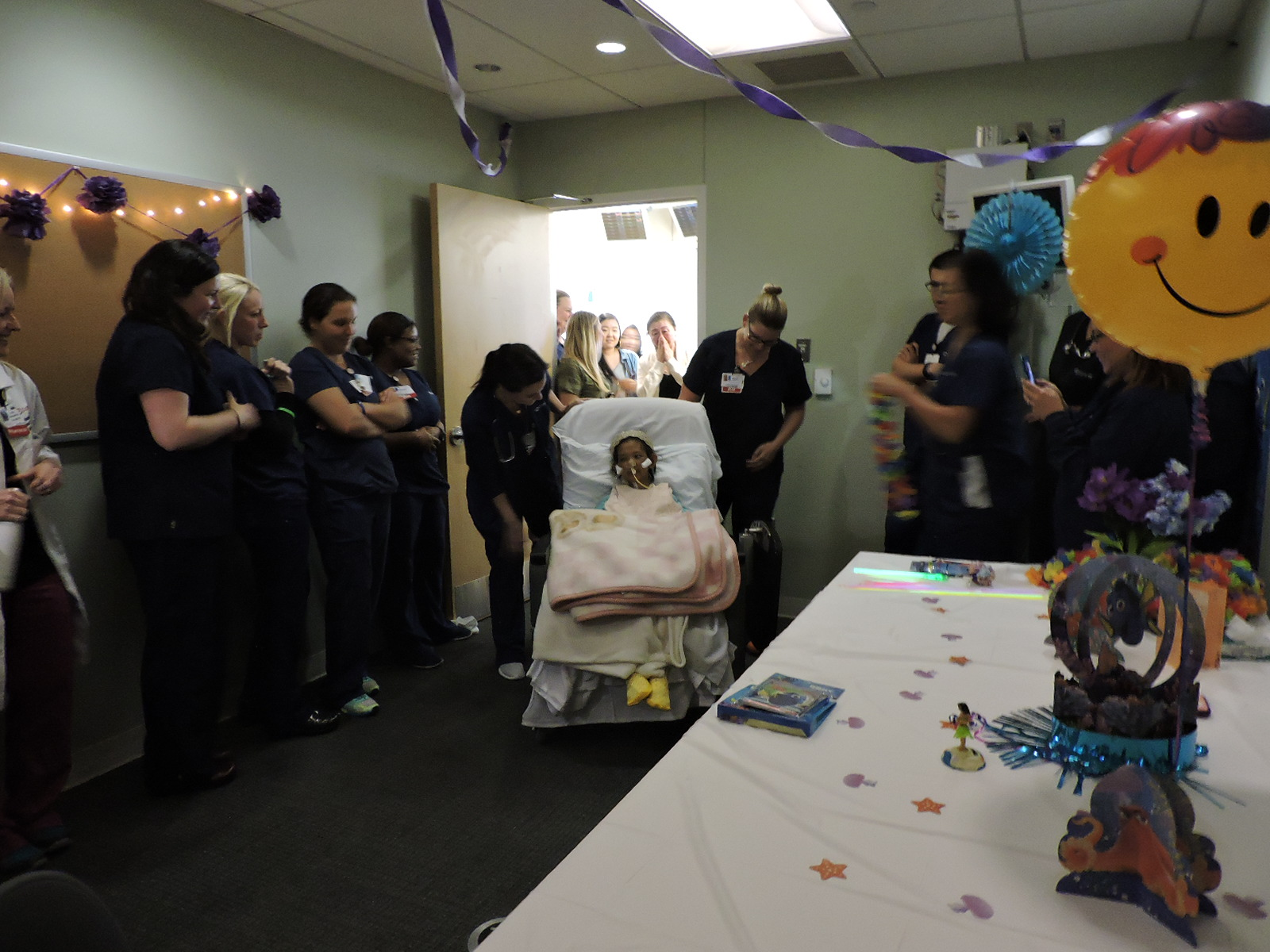 Cooper Brings Dance Party to Patient