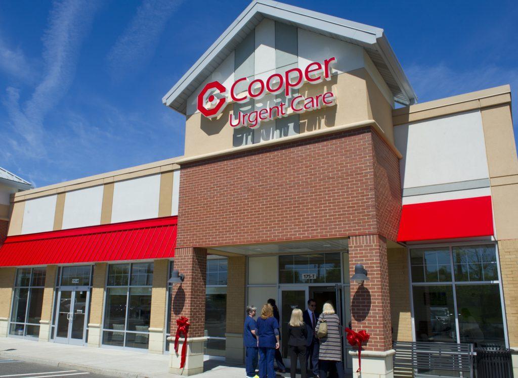 Exterior of Cooper Urgent Care Center in Cinnaminson