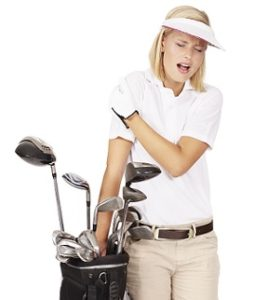 golf shoulder injury