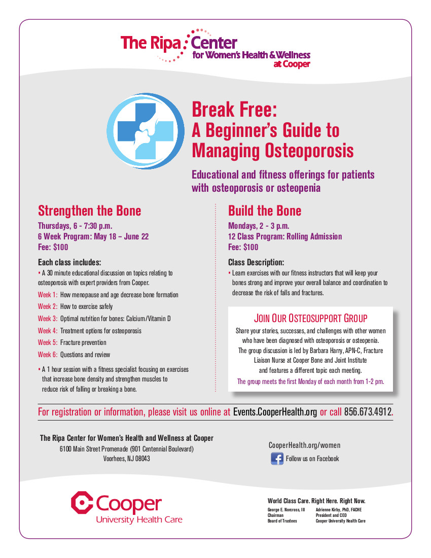 Break Free: A Beginner's Guide to Managing Osteoporosis
