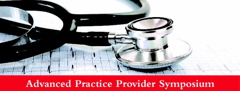 , Register Now: Advanced Practice Provider Symposium