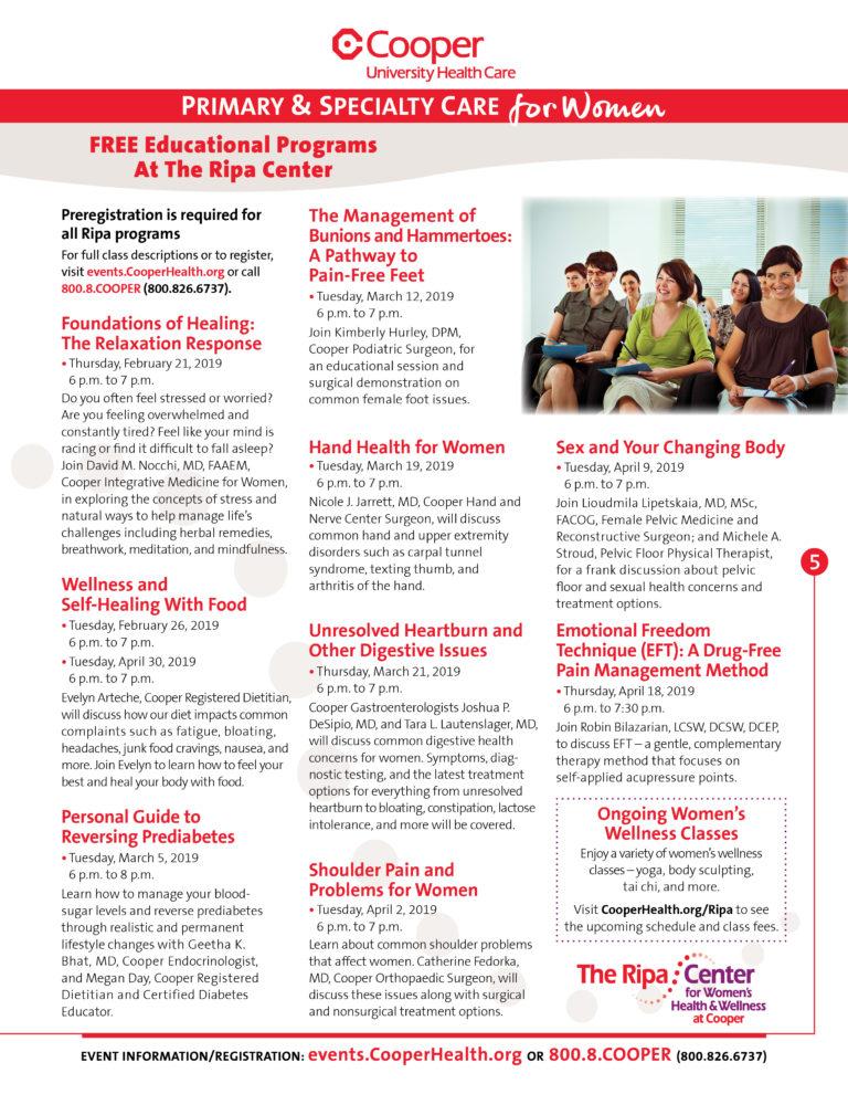 , Free Educational Programs at The Ripa Center