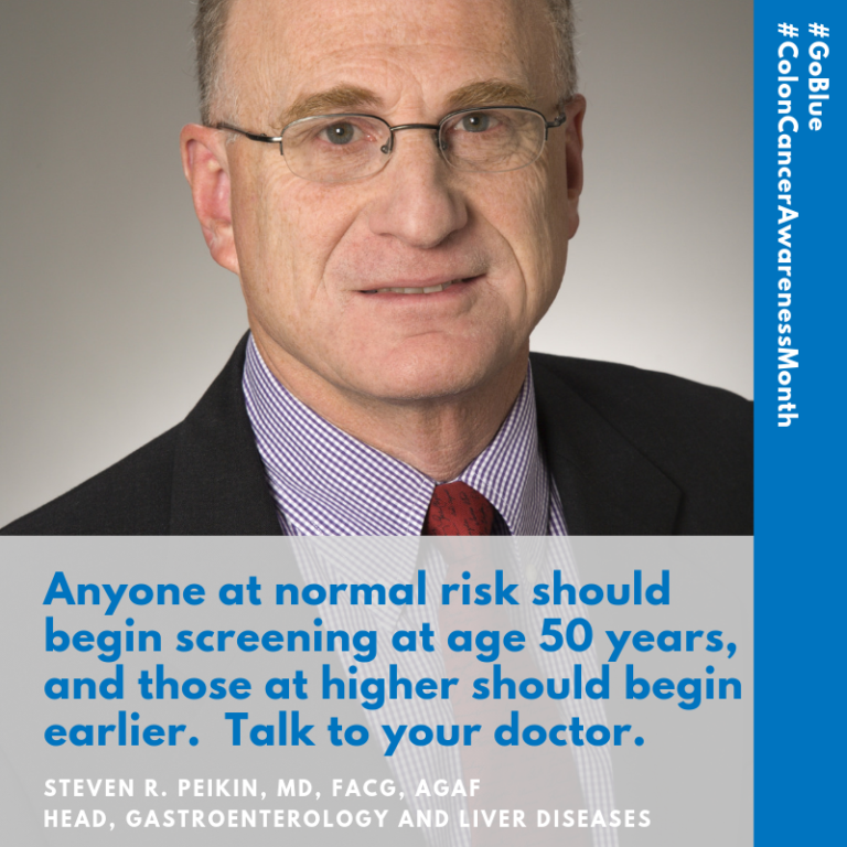 , Expert Advice for Colon Cancer Awareness Month