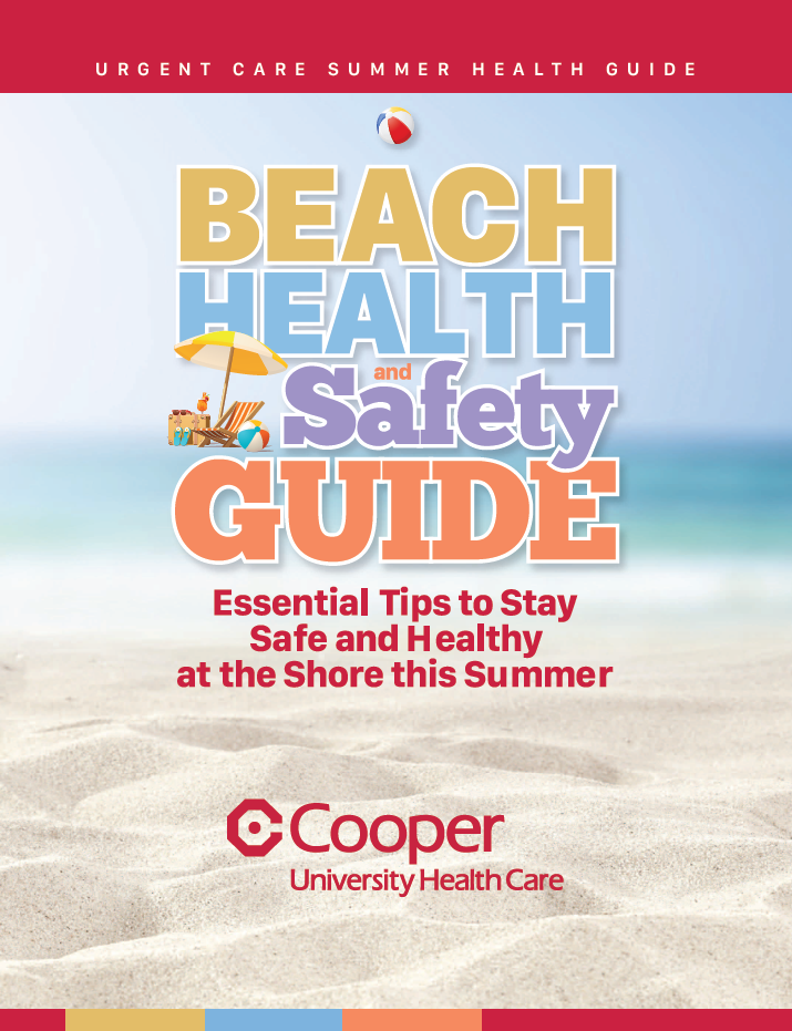 , Health Doesn't Take a Vacation – How to Stay Safe and Healthy at the Shore
