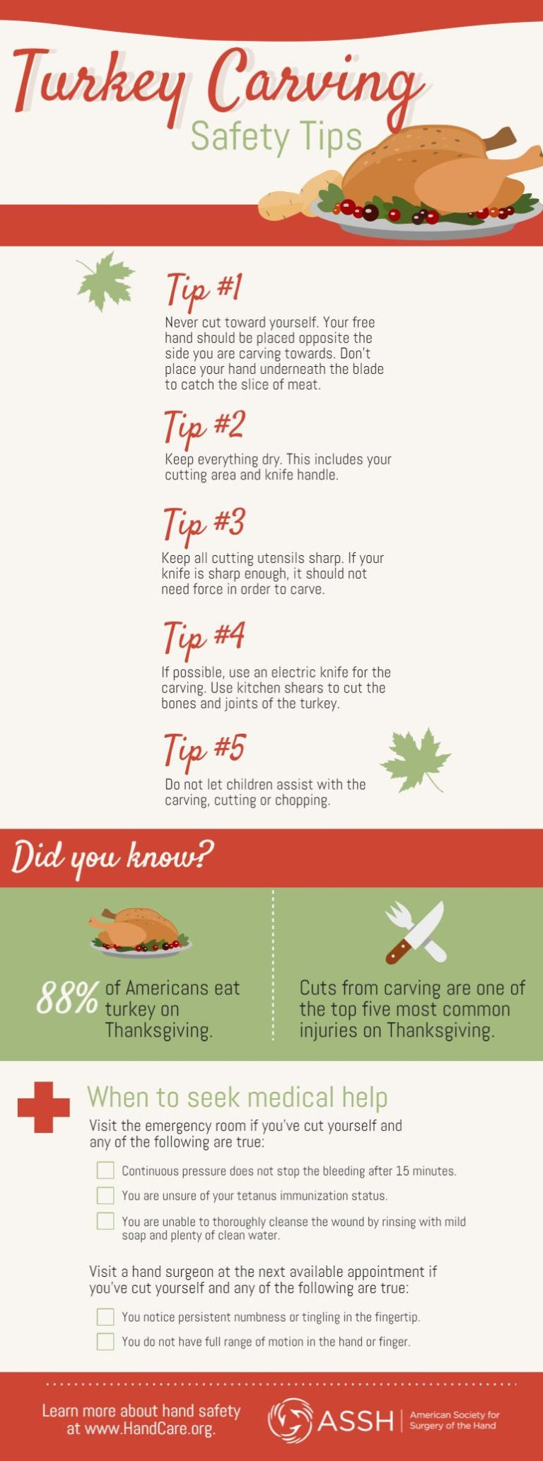 , Thanksgiving Safety Advice for Home Cooks and Younger Helpers