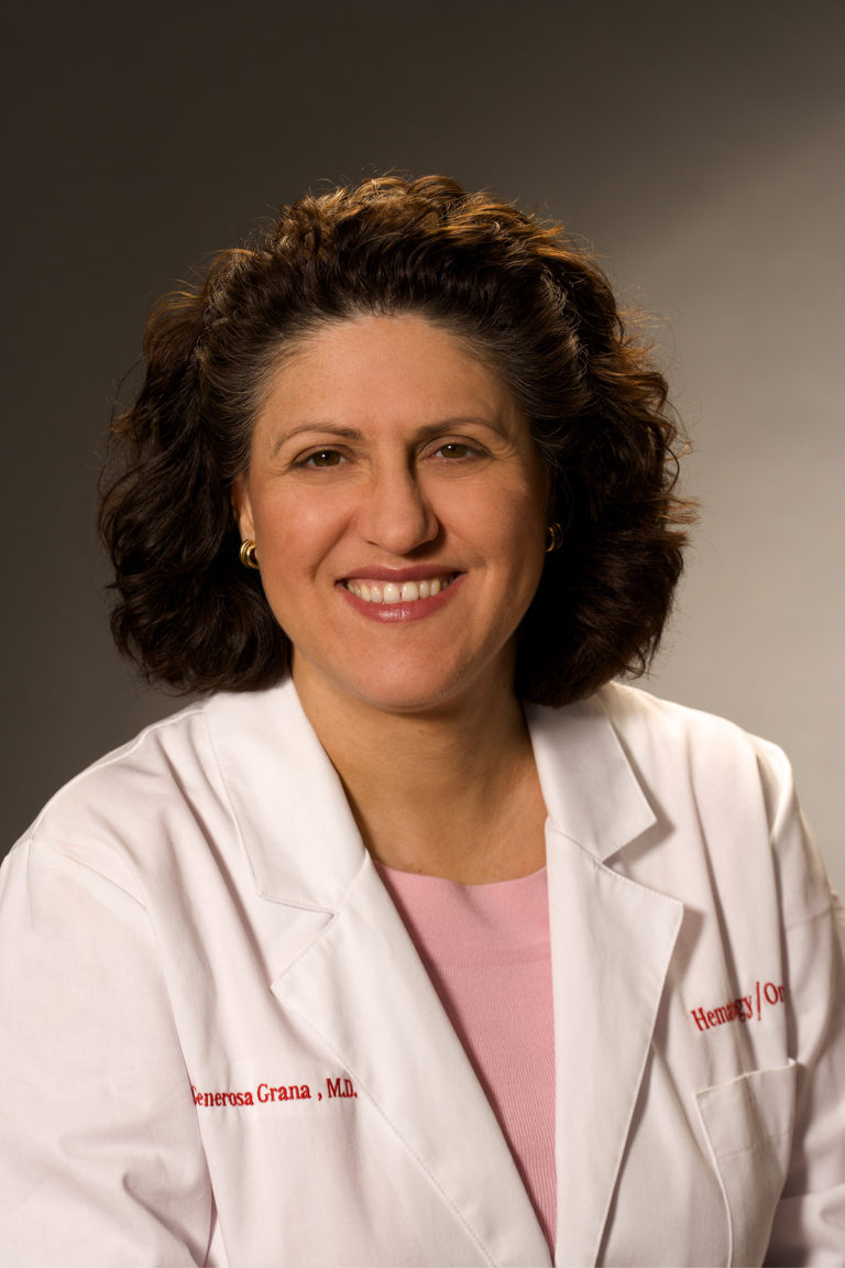 Generosa Grana, MD, Director of the MD Anderson Cancer Center at Cooper