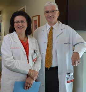 Dr. Grana and Dr. Spitz