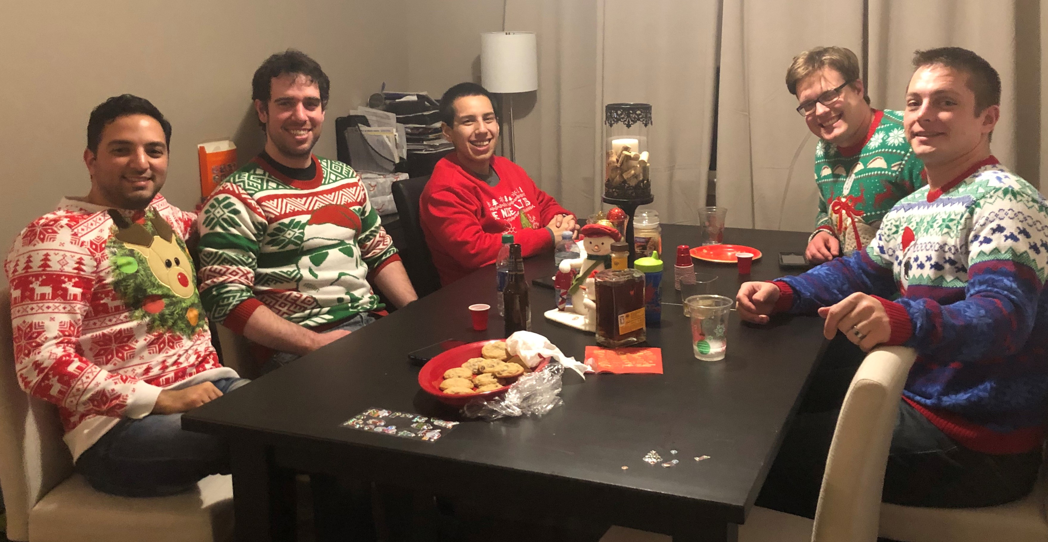 Congratulations on the Ugliest Sweaters!
