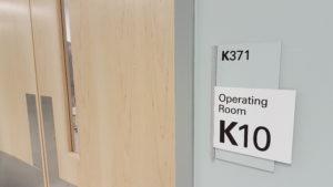 door to new operating room