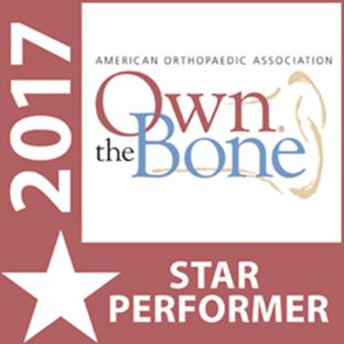 own the bone star performer badge