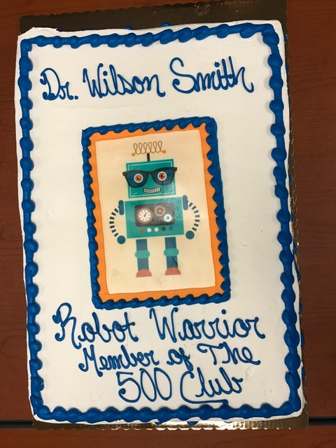 , Celebrating Dr. Robin Wilson-Smith's 500th Surgery Using the da Vinci Robotic Surgery System