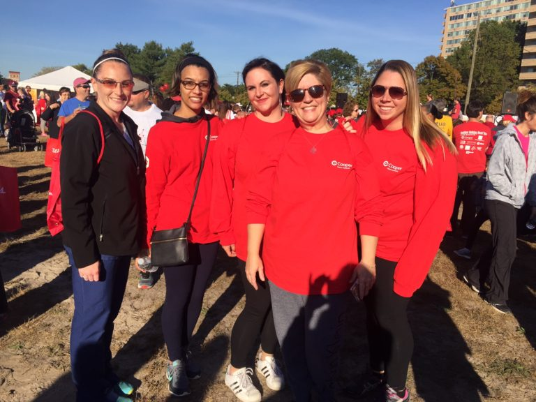 , Cooper Heart Institute and MD Anderson Cancer Center at Cooper Support Local Awareness Events in South Jersey