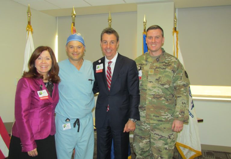 , Cooper University Health Care Honors Employees, Physicians for their Military Service