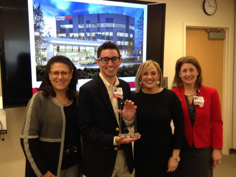 , American Cancer Society Recognizes MD Anderson Cancer Center at Cooper
