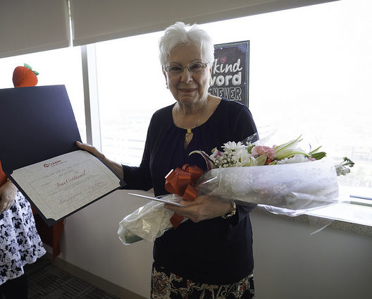 Joan Crothamel, 2018 Volunteer of the Year