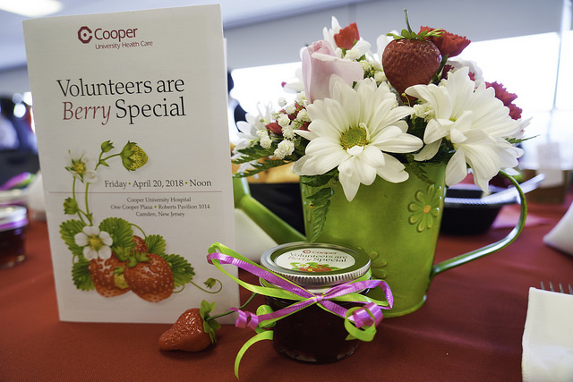 ", Cooper Celebrates Volunteers, Honors ""Volunteer of Year"""