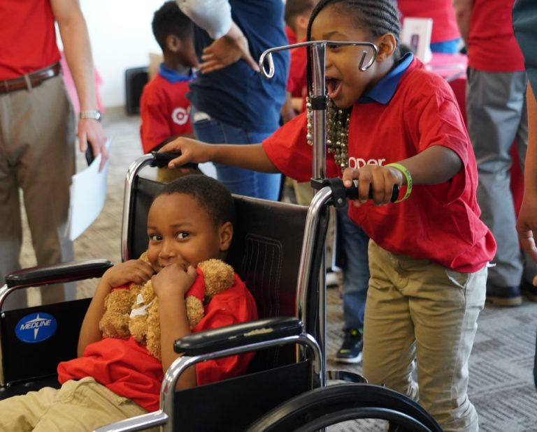 ", Camden Students Learn How to Stay Healthy at ""Teddy Goes to Cooper"" Event"