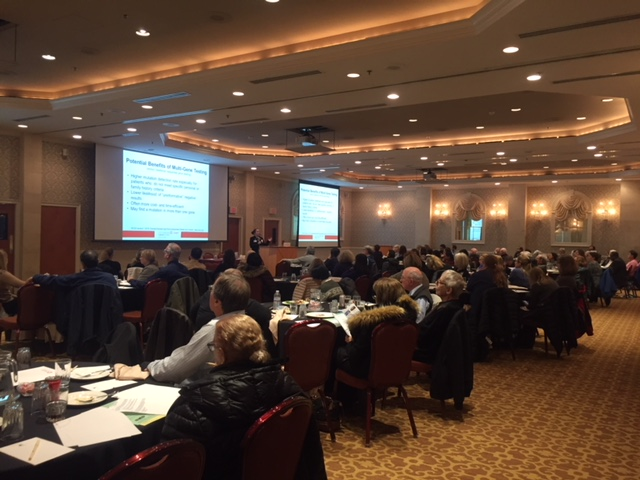 , Cancer Genetics CME Event Draws Large Audience of Health Care Professionals