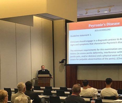 , Cooper Urologist Dr. Allen Seftel Presents Grand Rounds at NYU Winthrop Hospital