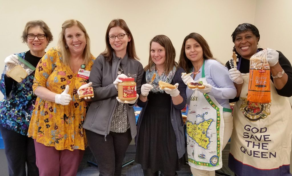 , Cooper Team Preps 325 Sandwiches for Cathedral Kitchen