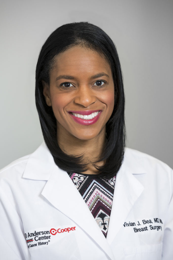 Vivian Jolley Bea, MD, MBS, Breast Surgeon/Surgical Oncologist, MD Anderson Cancer Center at Cooper