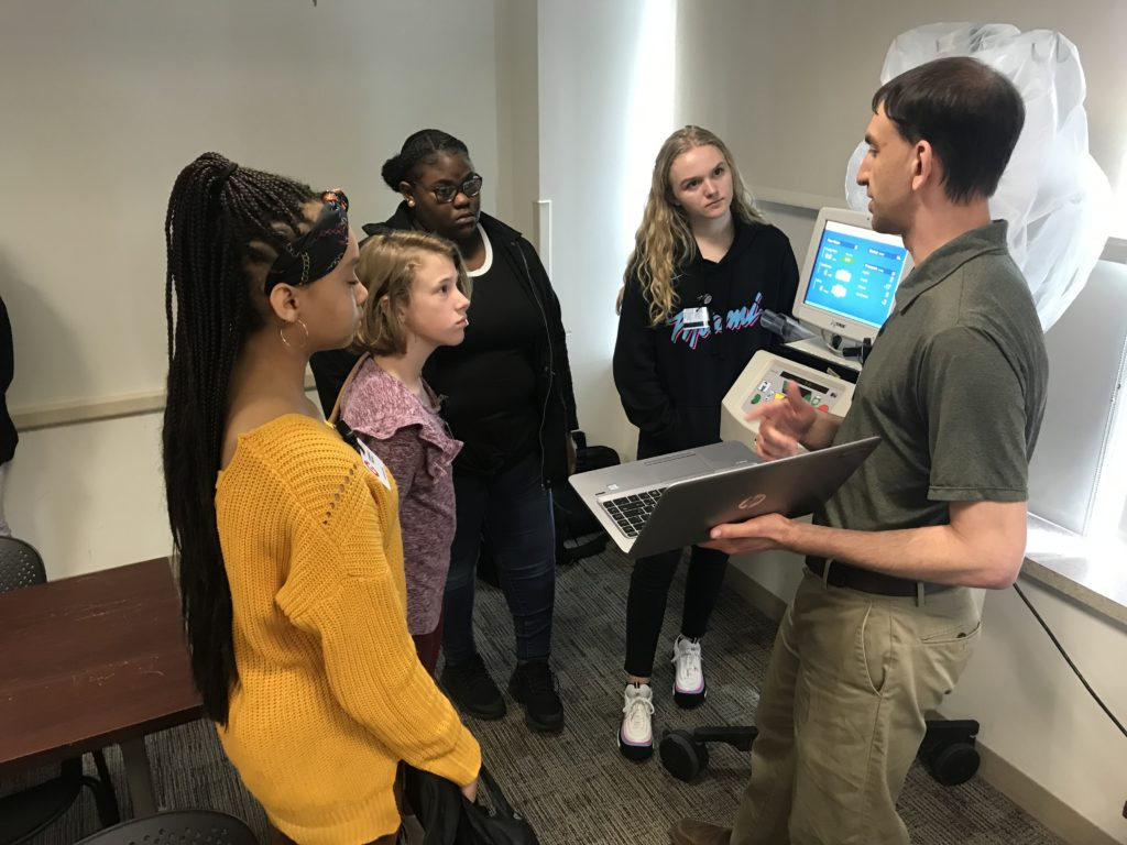 , Students Enjoy Hands-On Experiences During Cooper Career Day