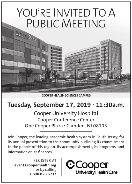, You're Invited: Cooper Annual Public Meeting
