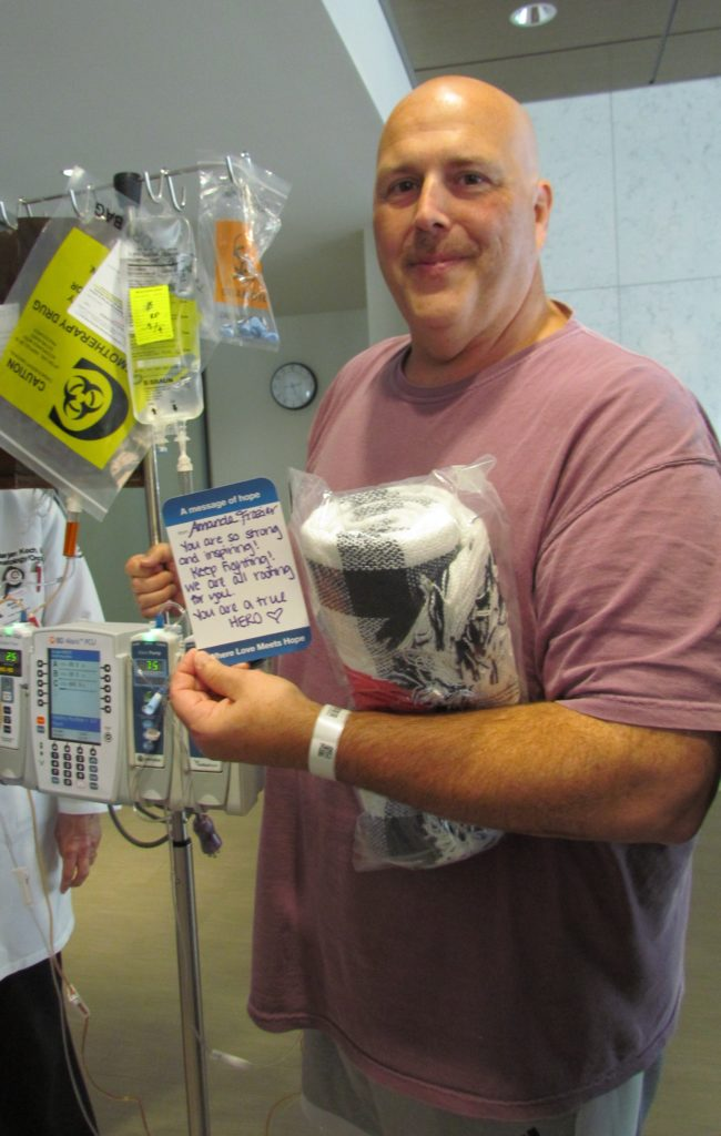 , Subaru and the Leukemia & Lymphoma Society Deliver'Gestures of Hope' to Cancer Patients at MD Anderson Cancer Center at Cooper