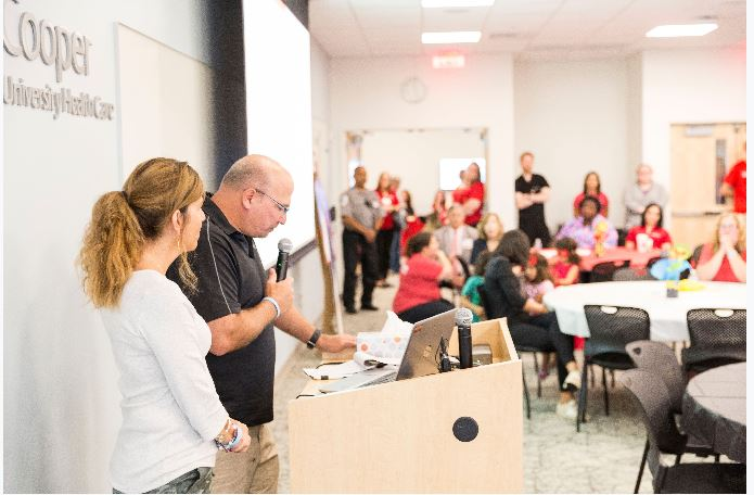 , Celebration of Life Brings Smiles to Pediatric Trauma Patients, Families, and Cooper Staff