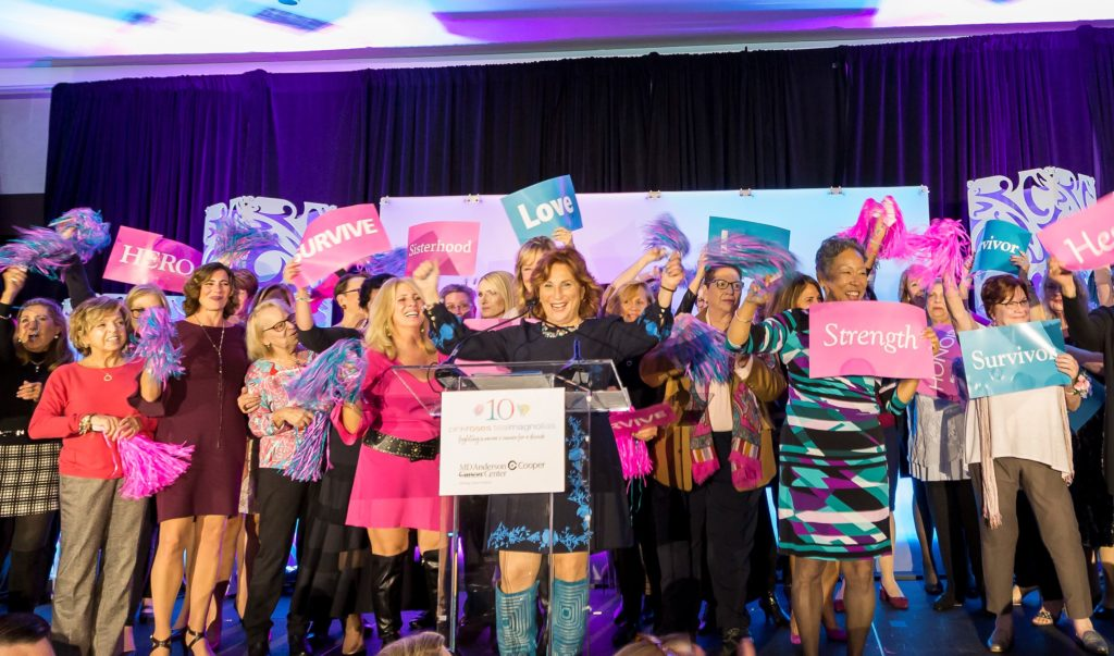 , The Cooper Foundation's 10th Annual Pink Roses Teal Magnolias Brunch Raises a Record-Breaking $1 Million for Breast and Gynecologic Cancer Care and Research at MD Anderson Cancer Center at Cooper