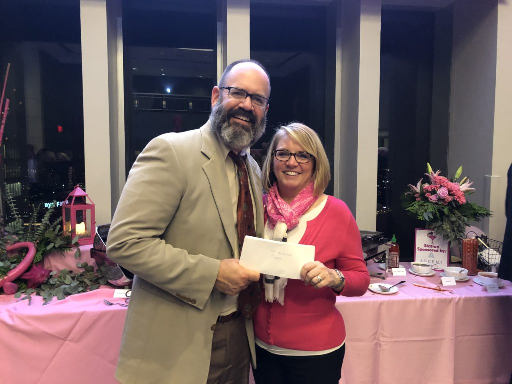 , Helen's Angels Donates $25,000 to MD Anderson Cancer Center at Cooper