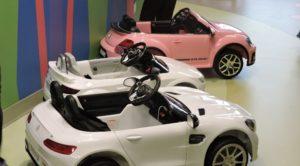 Three Luxury Mini Cars for Kids