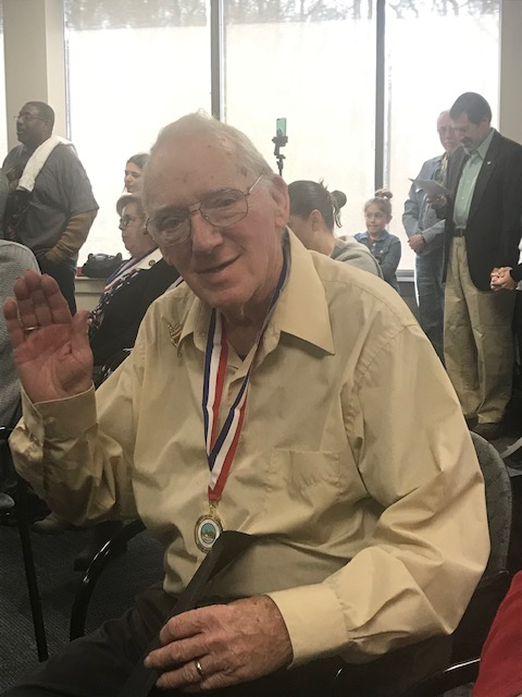 , Cooper Veteran Phil Kenerley Honored With Camden County Medal