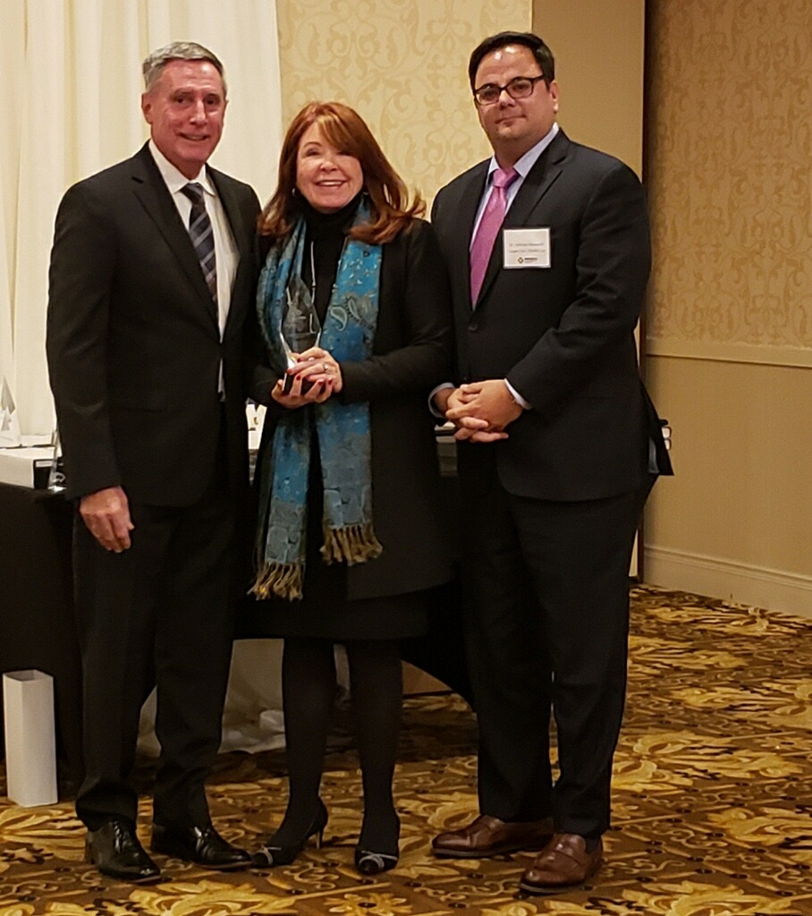 , Former Cooper CEO Adrienne Kirby Receives Special Achievement Award from HPMSNJ