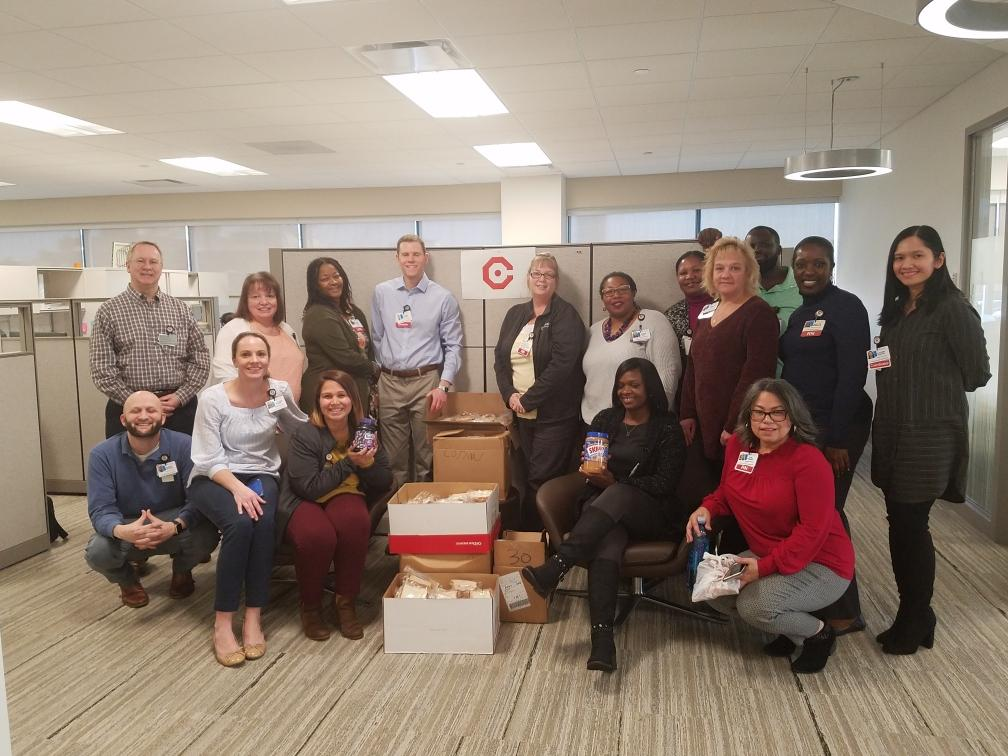 , Population Health Donates 371 Sandwiches to Cathedral Kitchen in Camden