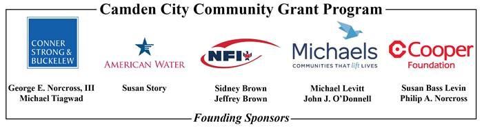 , First Grantees of New $1 Million Camden City Community Grant Program Announced