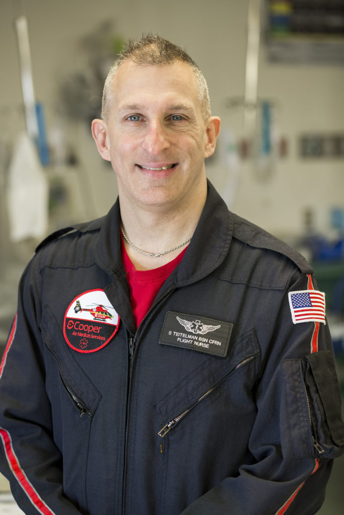 Cooper 2020 Nurse of the Year, Steven Teitelman, RN, BSN