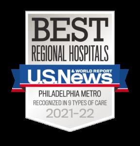 Us News Best Hospital Philadelphia Region
