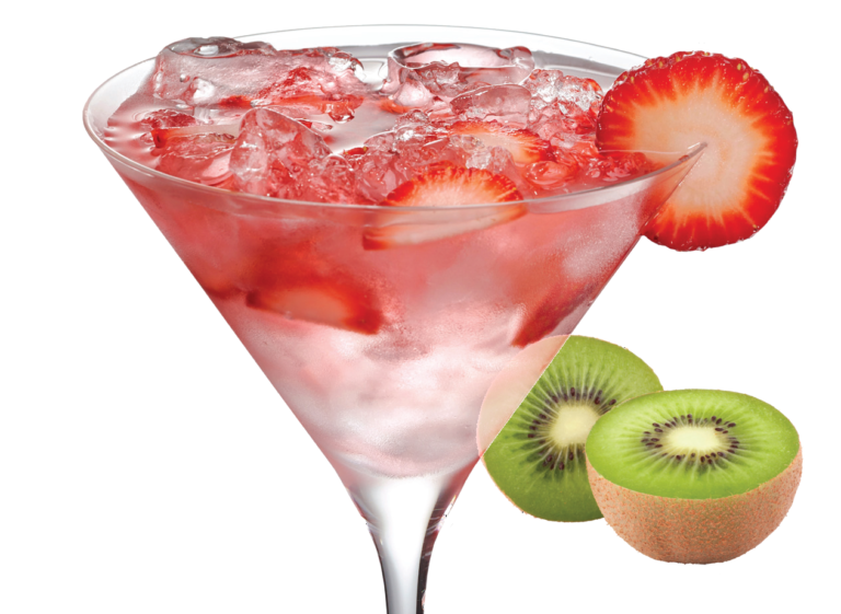 strawberry kiwi spritzer