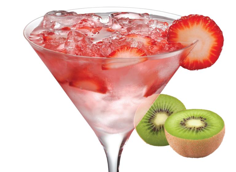 strawberry kiwi spritzer