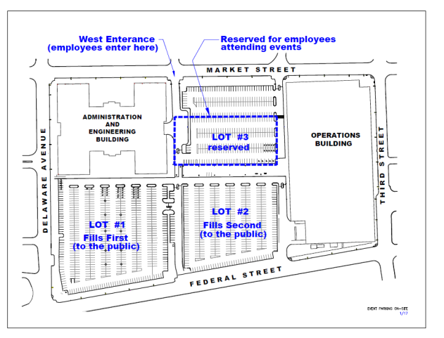 Concert Season Parking For 2018 Weekly Rounds