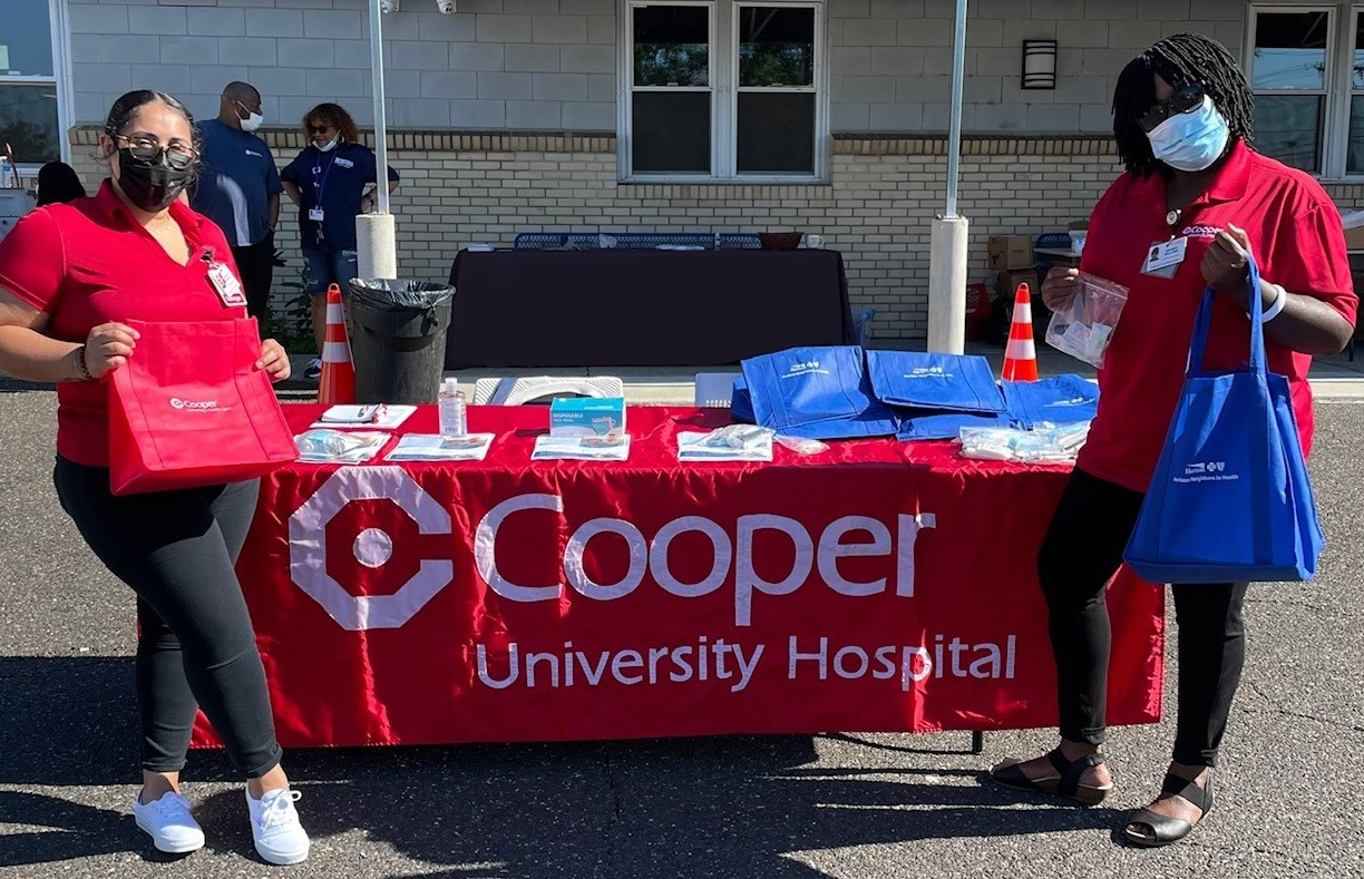 Cooper's Community Outreach Workers at Joseph's House Service Fair